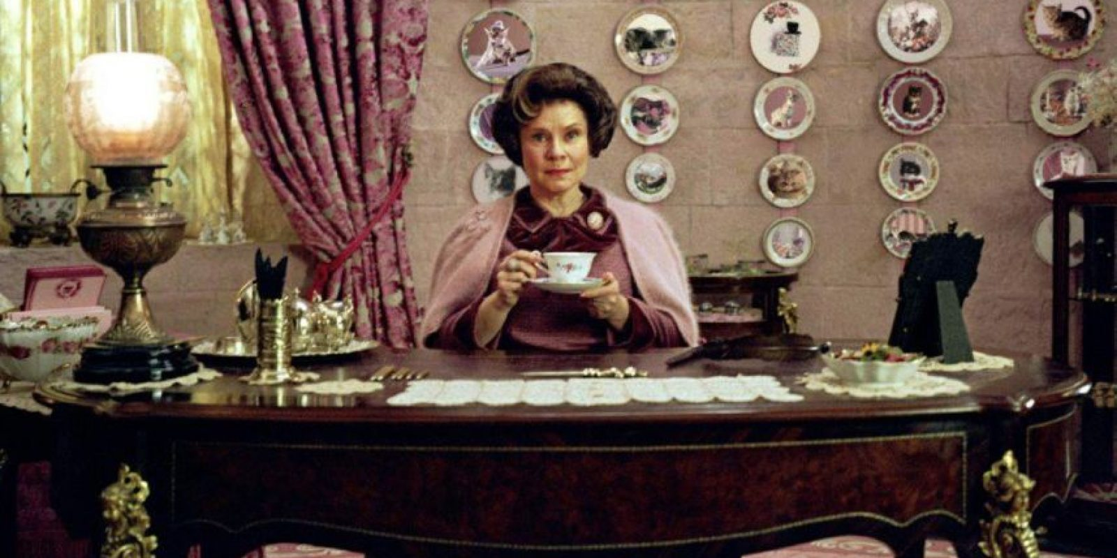 Dolores Umbridge fue inspirada en una persona real. Foto:Warner Bros.