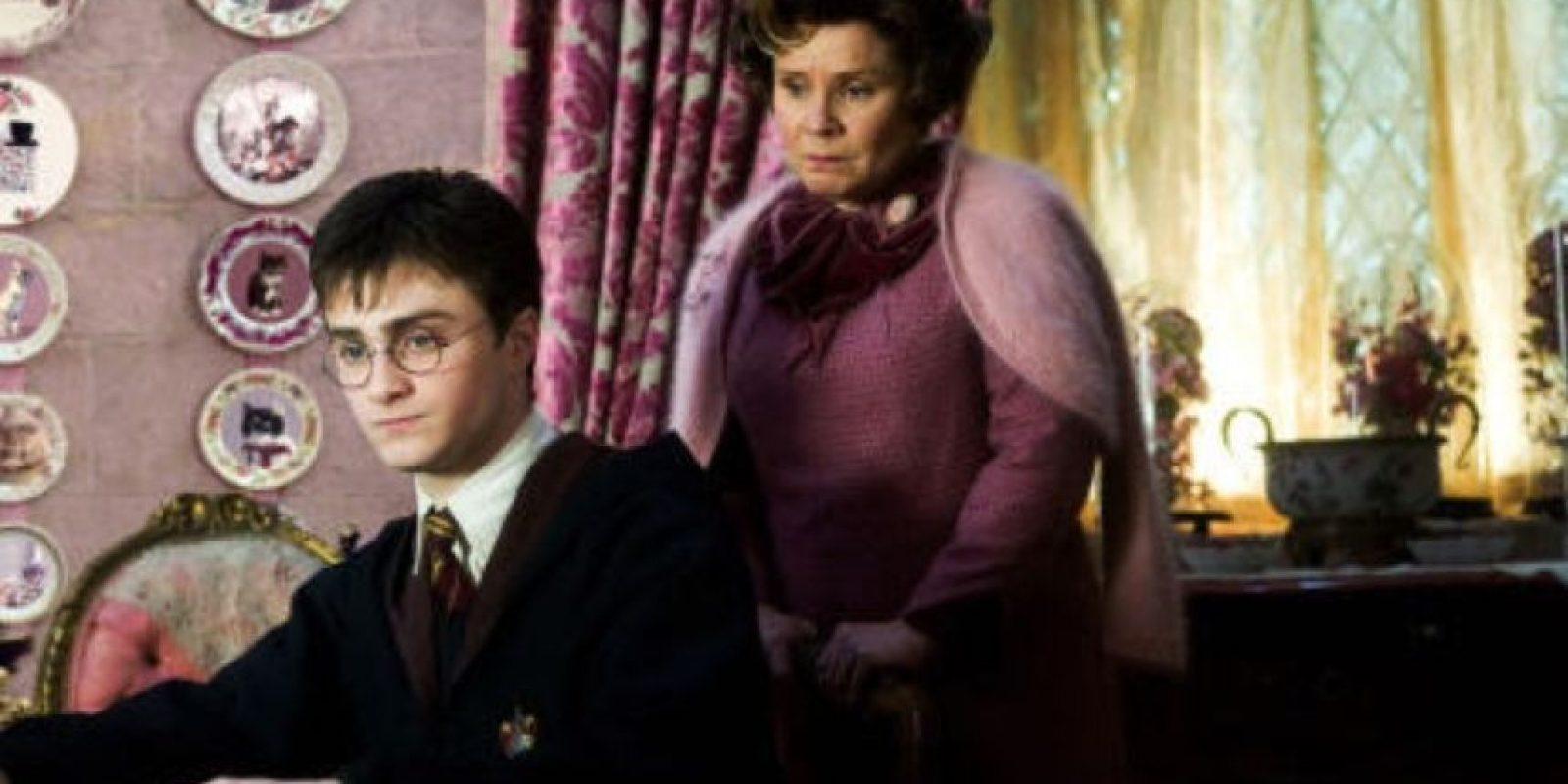 Dolores Umbridge fue una pesadilla para Harry Potter. Foto: Warner Bros.