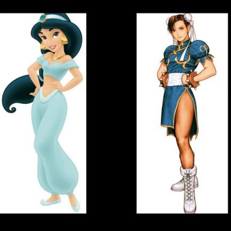 """""""Jasmine"""" + """"Chun Li"""" Foto:IMDB / IMDB"""