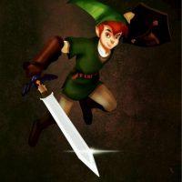 """""""Peter Pan"""", disfrazado de """"Link"""", de """"Zelda"""" Foto:Isaiah Stephens vía Facebook"""
