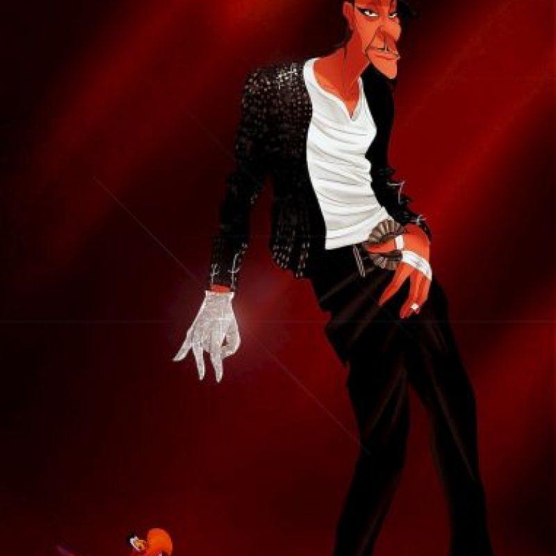 """""""Jafar"""", disfrazado como Michael Jackson Foto:Isaiah Stephens vía Facebook"""