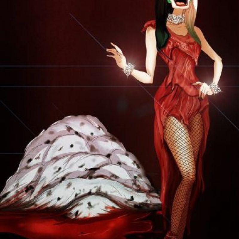 """""""Cruela De Vil"""", disfrazada de Lady Gaga Foto:Isaiah Stephens vía Facebook"""