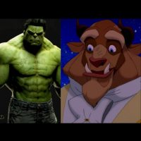 """""""Hulk"""" + """"La Bestia"""", de """"La Bella y la Bestia"""" Foto:IMDB / IMDB"""