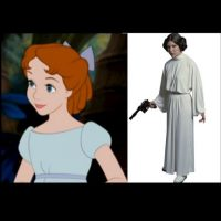 """Wendy"" + la princesa ""Leia"" Foto:IMDB / IMDB"