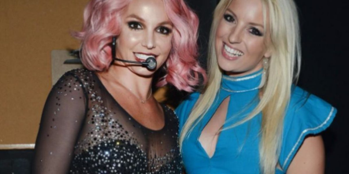 """¡Igualitas! Britney Spears conoce a su """"gemela perdida"""""""