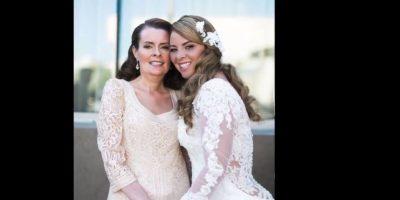 Ella no quería que se perdiera la boda Foto:Reuben Castro/Youtube Anthony Carbajal
