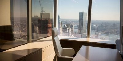 El interior de las nuevas oficinas del WTC Foto:Getty Images