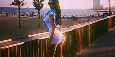Aunque el brasileño negó que tuviera una relación, la modelo subió unas fotos en Barcelona Foto:Instagram: @sorajavucelic