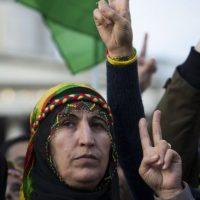 Protestas en contra de ISIS Foto:AFP