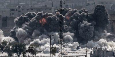 Bombardeos en contra de ISIS Foto:AFP