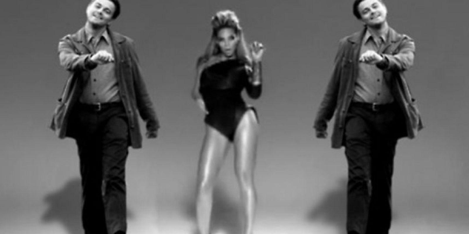 Leonardo DiCaprio acompaña a Beyoncé Foto:YourOwnMeme