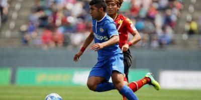 """30. Zakaria Bakkali. Con 18 años, el hombre del PSV es conocido como el """"siguiente Hazard"""" Foto:Getty"""