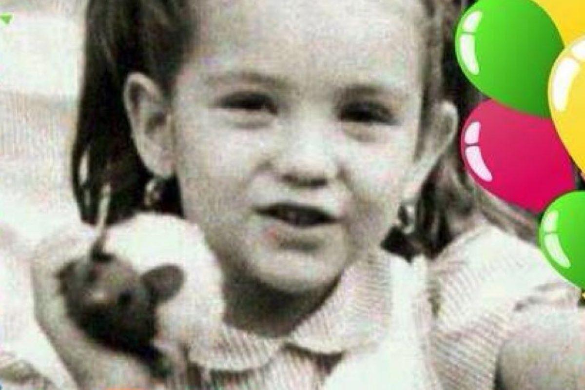 Thalía de niña Foto:Tumblr