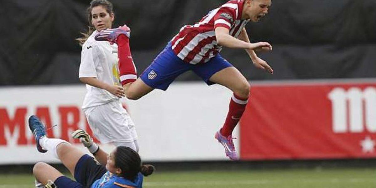Fotos: Así fue el debut de Nicole Regnier con Atlético de Madrid