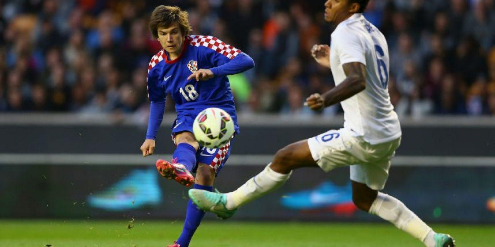 43. Ante Coric. El croata de 17 años, del Dinamo Zagreb, es el goleador más joven de la Europa League Foto:Getty