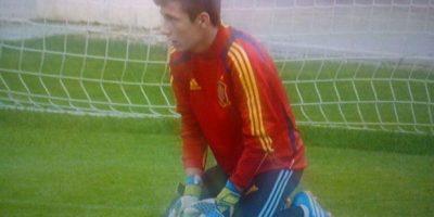 27. Iñaki Peña. El portero de Barcelona es un especialista en atajar penales Foto:Twitter: @@IP_Sotorres1