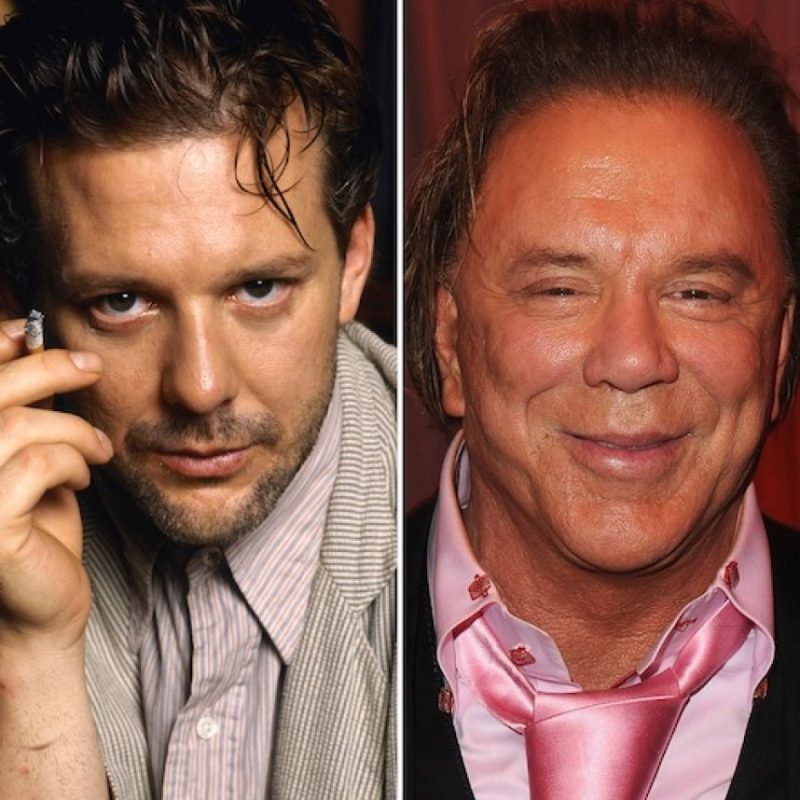 Mickey Rourke – actor