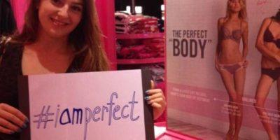 Por el contrario, las mujeres sienten que deben defenderse de la campaña creada por Victoria's Secret Foto:Twitter