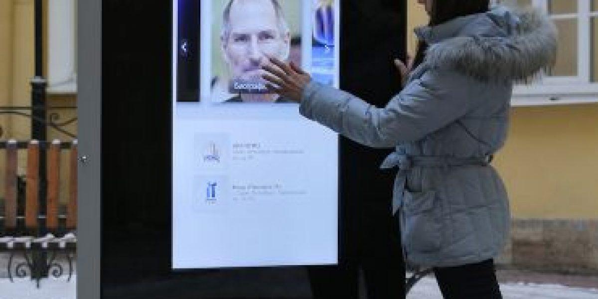 VIDEO: Desmantelan monumento en honor a Steve Jobs en Rusia