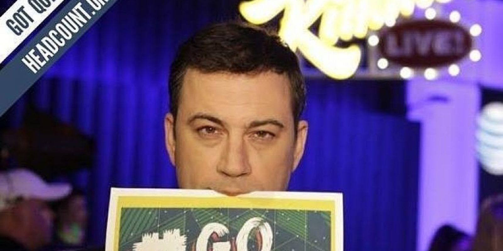 Jimmy Kimmel Foto: Facebook Headcount