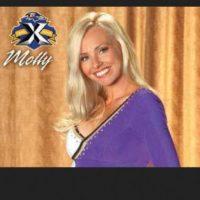 """A los 38 años fue contratada como porrista de los """"Ravens"""" de Baltimore Foto:Vía MollyShattuck.com"""
