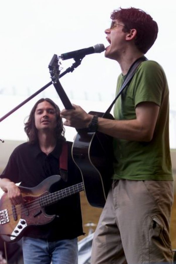 Así era en sus comienzos John Mayer. Su álbum Inside Wants Out salió en 1999. Foto:Getty Images