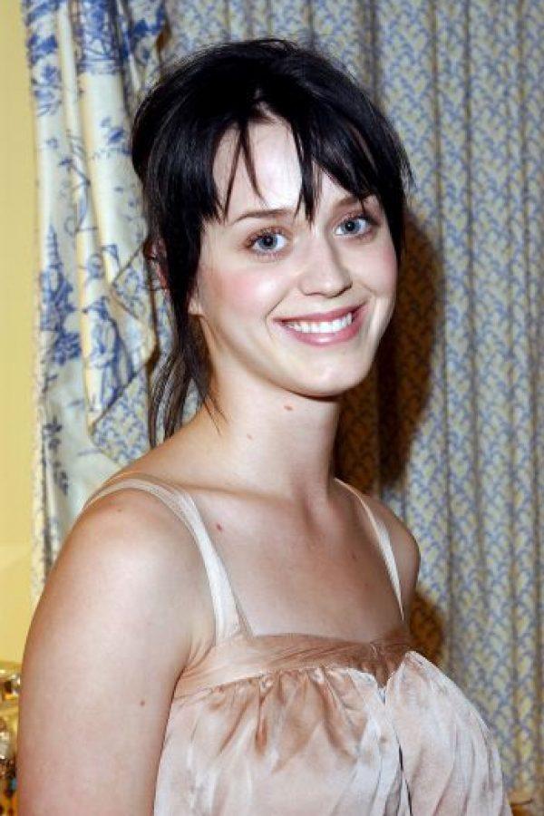Katy Perry no es lo que era cuando comenzó. Foto:Getty Images