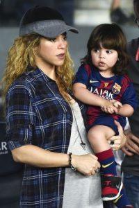 Es una de las artistas más importantes del mundo. Espera su segundo hijo con el futbolista Gerard Piqué. Foto:Getty Images