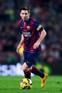 Messi a sus 27 años ya igualó el récord de Raúl como máximo anotadores de la Champions Foto:Getty