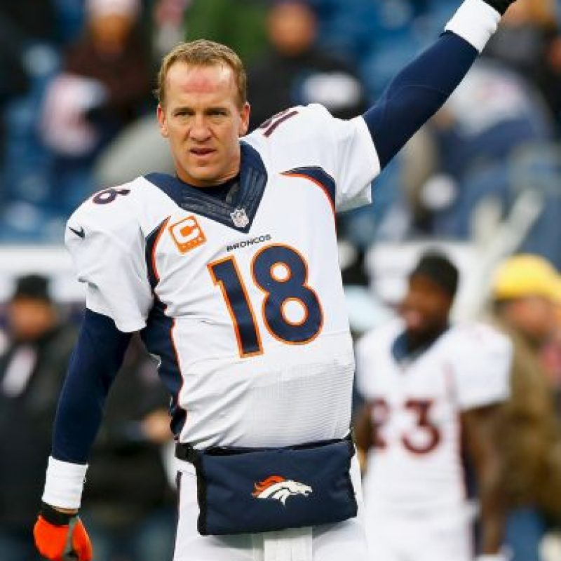 Manning es uno de los mejores quarterba de todos los tiempos de la NFL Foto:Getty