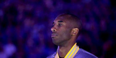 """""""Black Mamba"""" tiene 36 años y ha sido cinco veces campeón de la NBA Foto:Getty"""