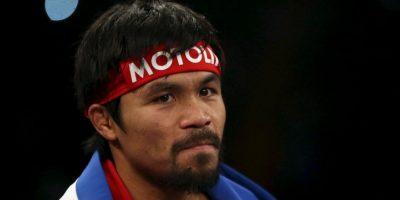 El Pac-Man a sus 35 años es uno de los mejores boxeadores libra por libra Foto:Getty
