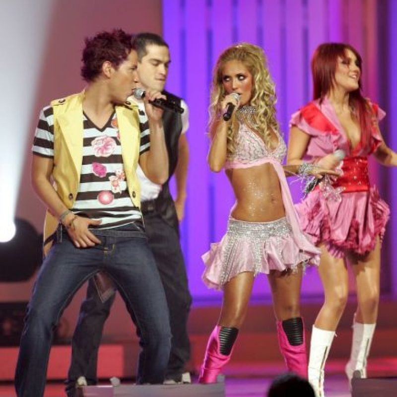 Así se les veía en concierto. Conquistaron a millones. Foto:Getty Images