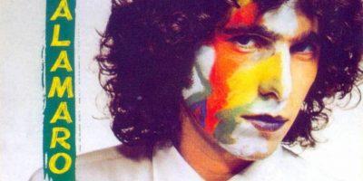 """Andrés Calamaro, en su álbum como solista """"Hotel Calamaro"""", de 1984 Foto:Coveralia"""