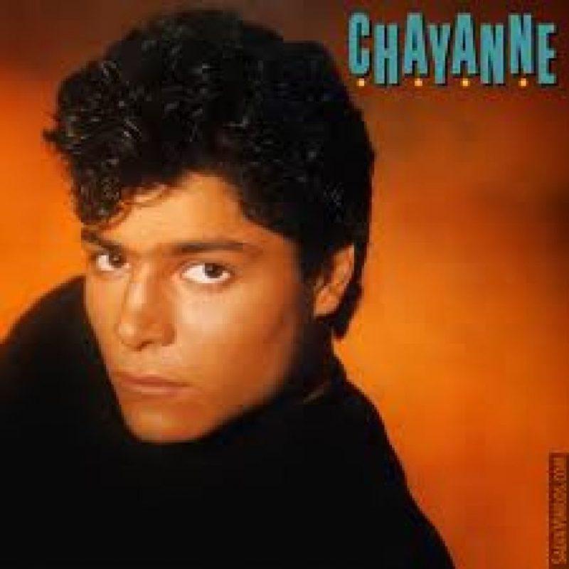 Chayanne, el ídolo latino, se construyó en los 80. Foto:Coveralia