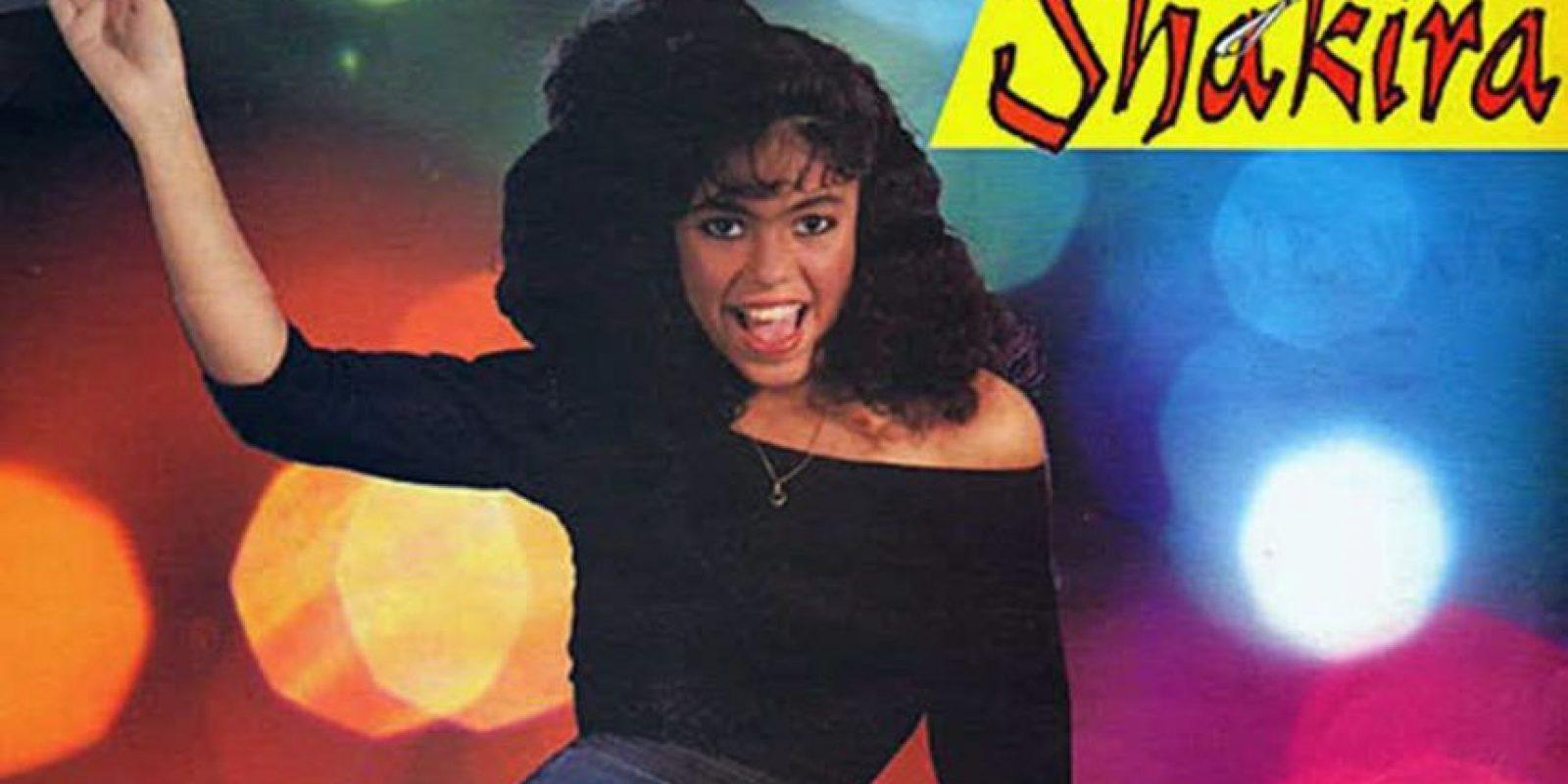 """Shakira comenzó muy joven, en Colombia, con su disco """"Magia"""", lanzado en 1991 Foto:Coveralia"""