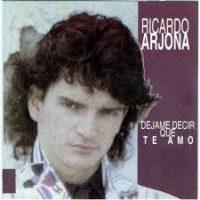 """Ricardo Arjona comenzó a conquistar corazones desde los 80, con su álbum debut """"Déjame decir que te amo"""", lanzado en 1985 Foto:Coveralia"""