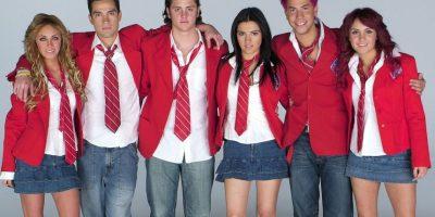 """Los chicos de RBD dominaron el pop latino durante la segunda década de 2000. De hecho, su álbum """"Rebelde"""" fue éxito en ventas en 2004 Foto:Televisa"""