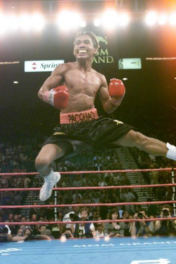 Manny Pacquiao inicio su carrera profesional a los 16 años Foto:Getty