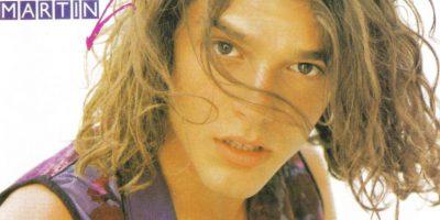 Ricky Martin lanzaba en 1991 un álbum con su nombre. Foto:Coveralia