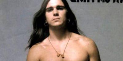 """Este era Juanes, cuando comenzaba con Ekhymosis. El primer álbum que consagró a la agrupación se llamó """"Niño Gigante"""" Foto:Codiscos"""