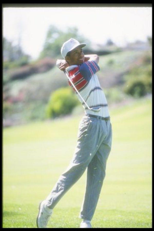 Tiger Woods ha jugado golf toda su vida, pero se hizo profesional en 1996 Foto:Getty