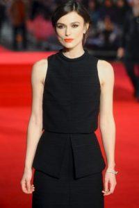 """También interpretó a Elizabeth """"Lizzy"""" Bennet en """"Orgullo y prejuicio"""" Foto:Getty Images"""