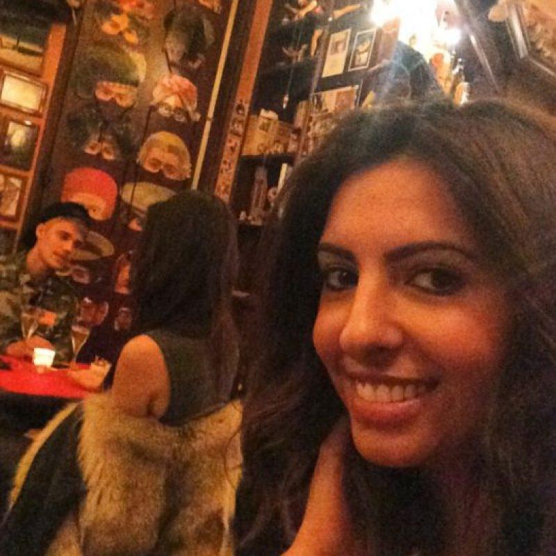 El 30 de septiembre, una fanática descubrió a Bieber y Kendall Jenner, cenando en un restaurante sin rastro de Selena. Foto:Instagram