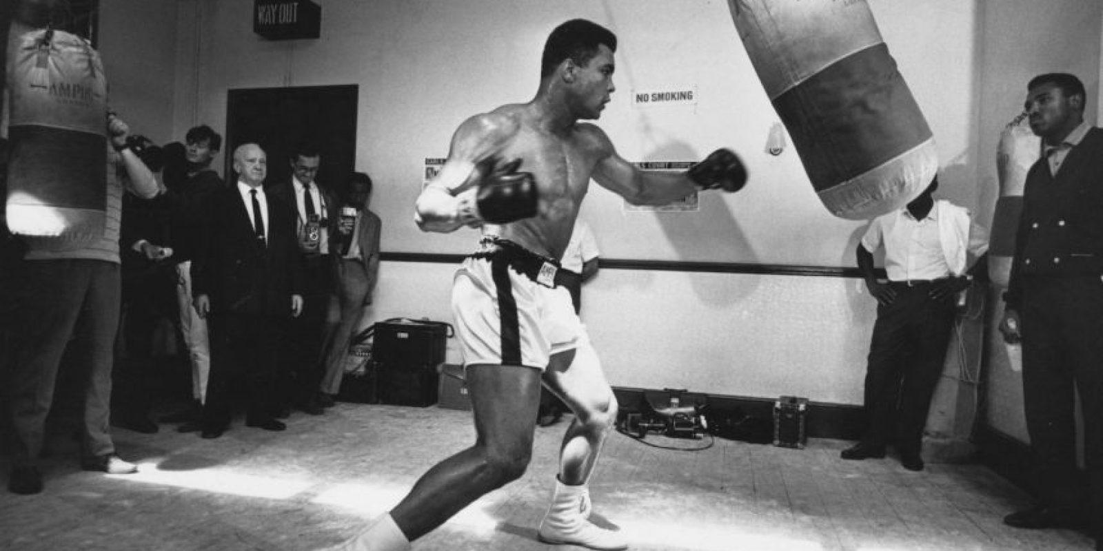 Personalidades vivas: 5. Muhammad Ali Foto:Getty Images