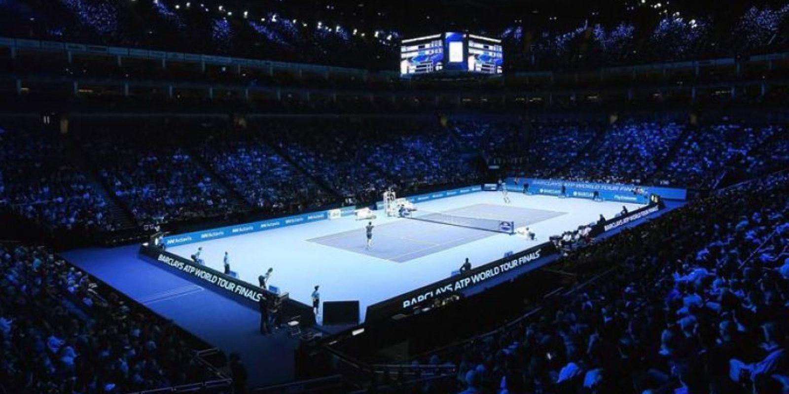 Vista general del O2 Arena durante el partido que han jugado el británico Andy Murray (I) y el japonés Kei Nishikori. EFE/EPA