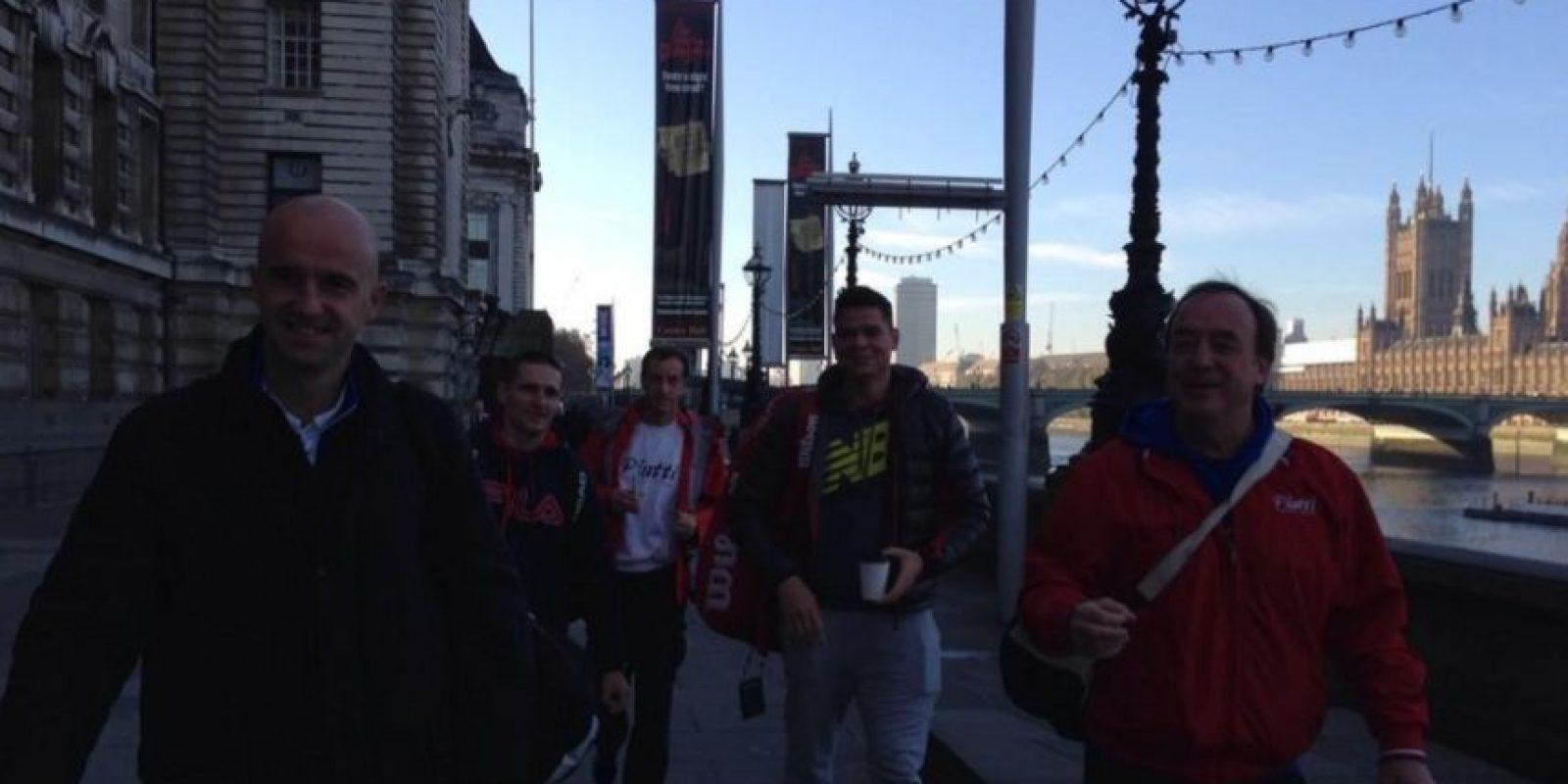 Milos Raonic salió a pasear con su equipo. Foto:twitter.com/milosraonic