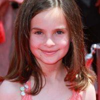 Emily Hahn es la voz de la niña que se encariña con Woddy y sus amigos. Foto:Getty Images
