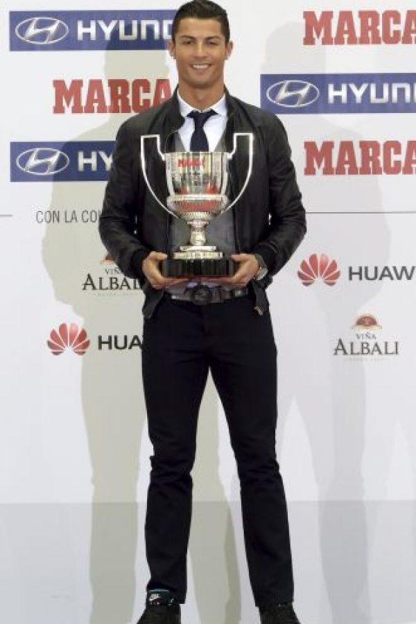 Cristiano sigue siendo galardonado. Foto:AFP