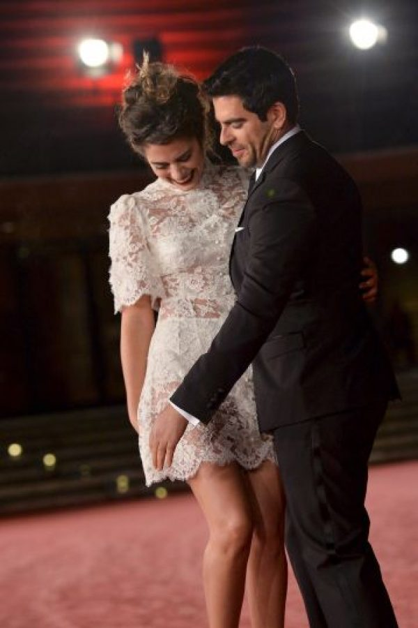 Lorenza Izzo y Eli Roth Foto: Getty Images